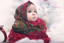 Children photography / Children studio photography Christmas kids photo session