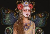 Demeter & Persephone / Part of my program, Sage Priestess Training: http://vanessasage.com/priestess-training/