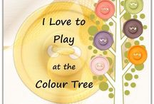 The Colour Tree / Stampin' Up! Colour Inspiration from addINKtive designs.