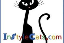 In Style Cats / For stylish cats and their owners! Posts from InStyle Cats website. Lots of cool cat stuff, including best cat toys, scratching posts, cat gyms, cat food, litter boxes and hidden cabinets. More than a cat could want - and shopping made easy for cat owners.