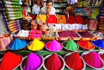 The World in Colors / Colorful #travel inspiration!