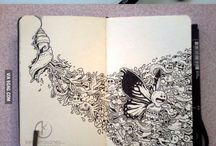 Artsy / Pretty pictures, sketches, and art projects / by Deianeira Kupchanko
