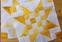 Star Quilts / My absolute most favorite quilt type!
