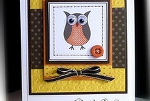 Owl punch - Stampin up / by Mandy Jack