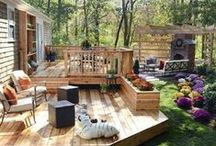 My outdoor space / by Elise M
