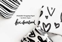 Printables & Downloadables / Free image downloads, free fonts and downloadable templates