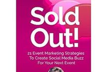 """#SusanOrdonaBook / Amazon #1 Best Seller """"Sold Out: 21 Event Marketing Strategies To Create Social Media Buzz For Your Next Event""""  My first book. www.SusanOrdonaBook.com"""