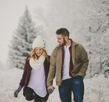 couples + winter / Winter couples session inspiration
