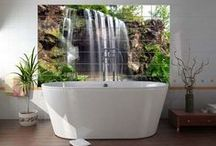 Home Decor - Bathroom Ideas / by Terri Arnold-Krikie