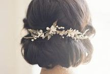 Hair Dos / Hairstyles for the big day - or every day.