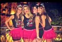 Bachelorette Party / Fun bachelorette party ideas and outfits.