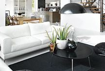 Home is where you live / Inspiring living rooms