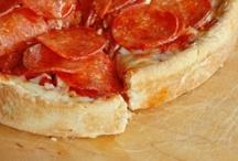Pizza with Ricotta, Artichokes, and Onions | Recipe