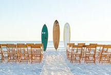 Beach Weddings / Gorgeous beach wedding inspiration.