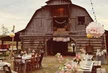 Country Weddings / Country Wedding Inspiration