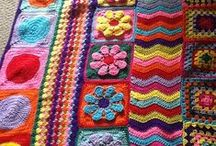 Craft - Crochet - Squares and Afghans / by Terri Arnold-Krikie