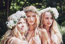 Boho Bride / Boho and Beachy Wedding Inspiration