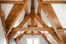 Timberrrrrr / Timber frame inspiration.