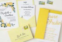 Wedding Invitations / Our favorite unique wedding, bridal shower, and bachelorette invitations.