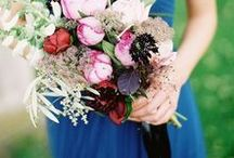 Wedding Bouquets / Unique wedding bouquets. From peonies to anemonies, ranunculus and roses. So much pretty!