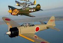 WW II warbirds / Dedicated to World War II military aviation