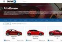 """Alfa Romeo / La marca italiana del """"Biscione"""". Coches deportivos e brillantes."""