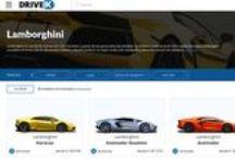 Lamborghini / ADN italiano junto con el grupo alemán Audi-Wolkswagen. Super coches lujosos y dinámicos.