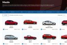 Mazda / Fabricante de automóviles con sede principal en Hiroshima, coches deportivos y familiares.