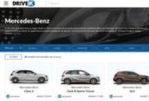 """Mercedes-Benz /  Empresa """"pionera"""" de la industria alemana, los coches más sinuosos y atractivos."""