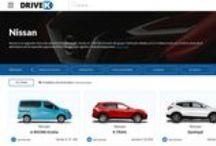 Nissan / Marca de automóviles Japoneses, vehículos comerciales, coches de ciudad y todoterrenos.