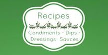 Recipes - Condiments - Dips - Dressings - Sauces / My Healthy Recipe Swaps https://www.pinterest.com/angeloftheshore/healthy-recipe-substitutions/ ◾◾◾ Join Our Next Healthy Living Challenge! http://susanhalloran.arbonne.com/ ◾◾◾ Vegans and/or those on medically prescribed diets use appropriate substitutions ♥️