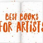Best Books for Artists / The most recommended reads for artists on the topics of art business, marketing, studio practice, creativity and more. See the full list at http://bit.ly/BestBooksForArtists