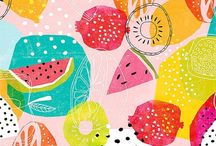 Colorful colors and patterned patterns / Gasp-worthy color combos and patterns
