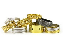 Alternative Groom Jewelry  / For the non-traditional groom.
