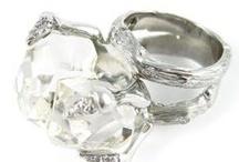 Alternative Bridal Jewelry  / Organic Jewelry for the alternative bride