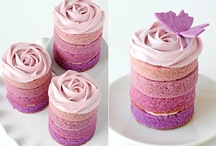 Mini Cakes & Petits Fours / by Made With Pink