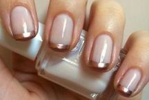 "NAILZ / ""A girl should be two things: classy and fabulous.""  Coco Chanel"