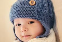 My Knitting Patterns / Knitting patterns for baby and child accessories designed by me. Also some cute toy knitting patterns / by Julie Taylor