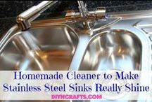 Cleaning ideas to try / I need all these ideas! / by Stacy Lewis