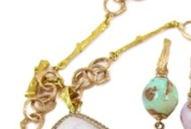 Organic Jewelry in Rose Gold / Rose Colored Glasses