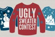 Ugly Sweater Contest / All the entries into our Ugly Sweater Contest with their captions. There were some awesomely ugly entries!