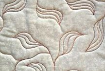 Free Motion Quilting / Ideas for free motion quilting designs / by Julie Taylor