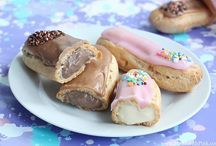 Eclairs / by MadeWithPinkBlog