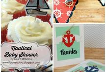Party: Nautical baby shower / Nautical ideas for a shower or party!