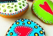 Crafts: painted rocks