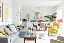 Living Room Design / There's nothing as cozy as a living room...when designed beautifully! Our living room is always changing and I save my inspirations for a family friendly living space here. Most is DIY, all is gorgeous.