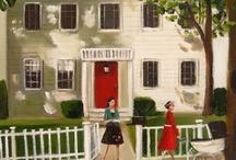 HOMES in ART / by Susan LeSueur