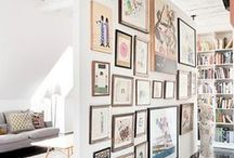 Preparing Gallery Walls / Here's where I collect amazing things to hang on the walls. Gallery walls make any house look like a home and you need LOTS of fun artwork and interesting decorations to great a true gallery.