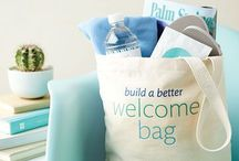 welcome bags.