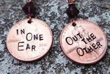 EARRINGS AND RINGS / earrings and rings / by Elizabeth Jones